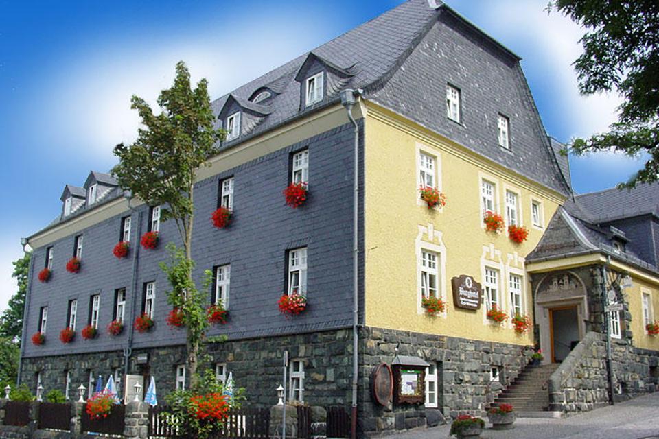Außenansicht - Burghotel Keller Lichtenberg