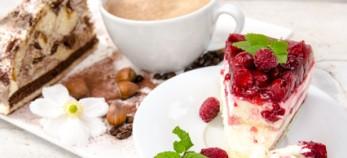 KAffee und Kuchenbuffet